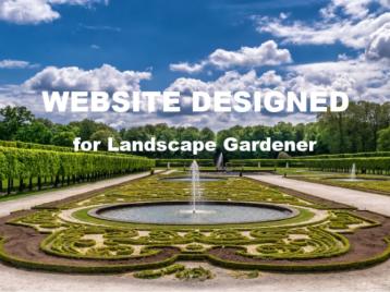 Well designed website example 1