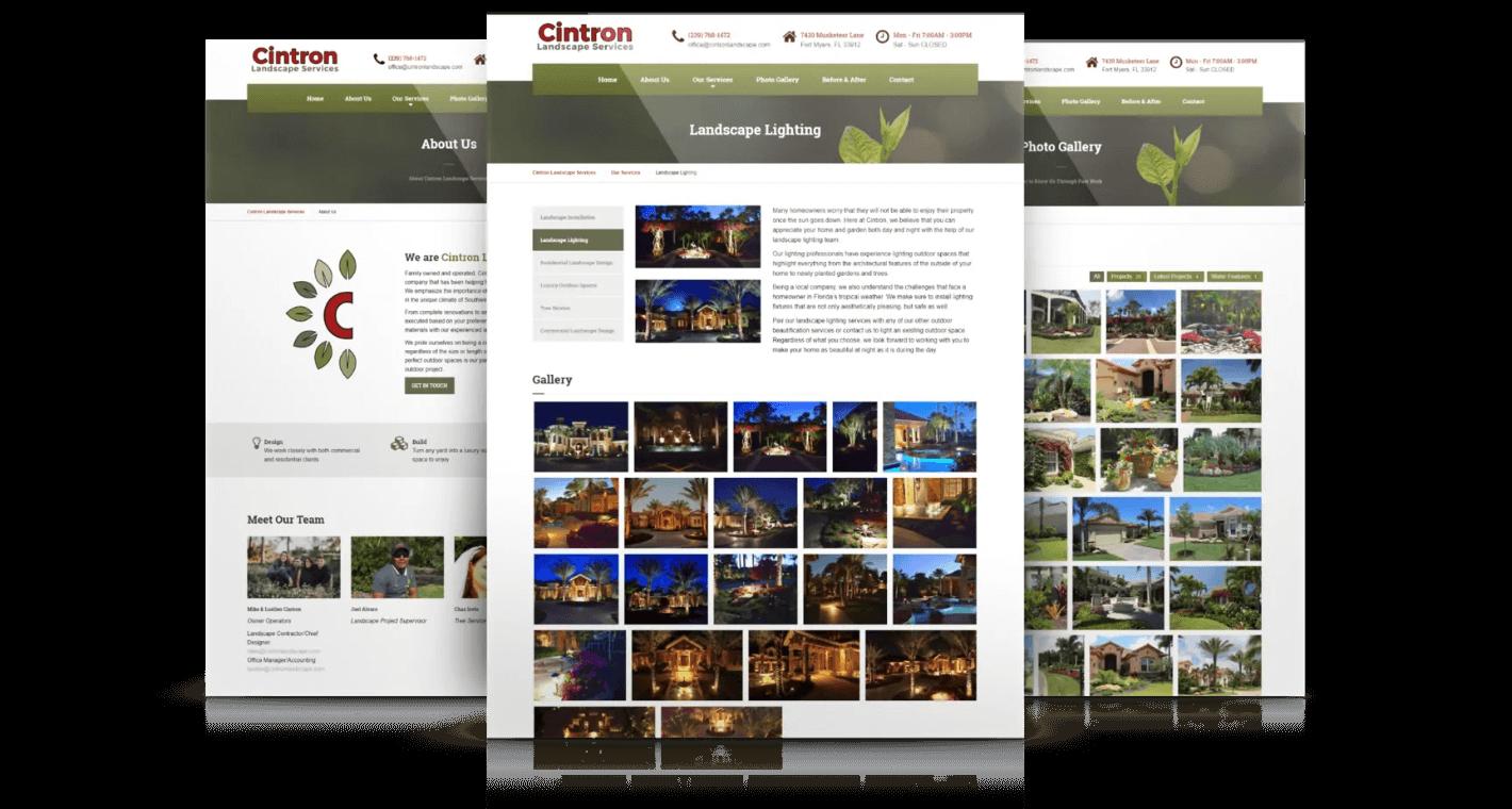 landscape-company-web-pages