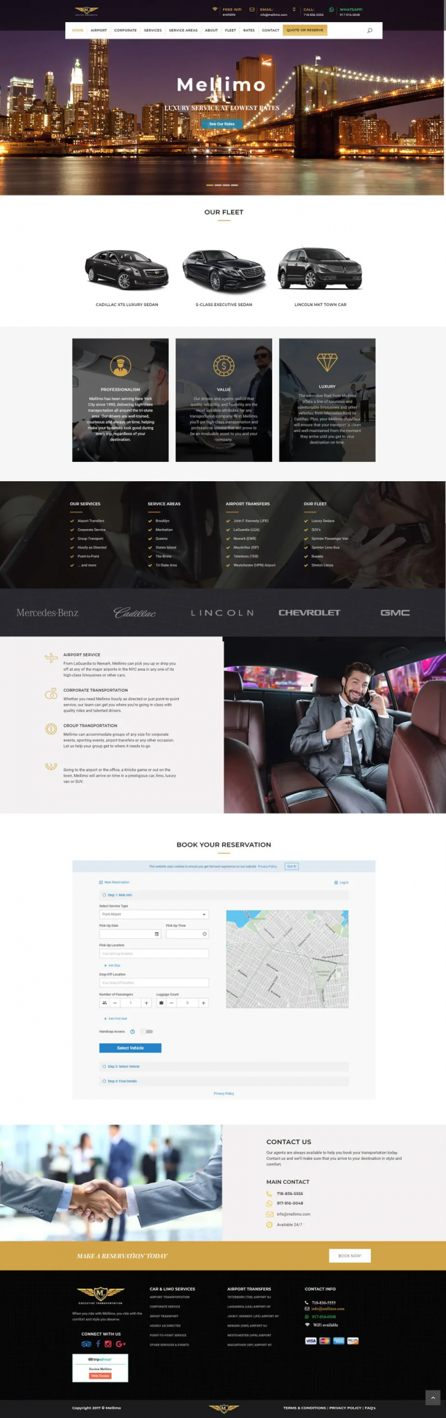 limousine-home-page