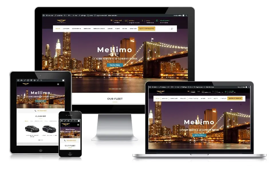 responsive-website-for-limousines