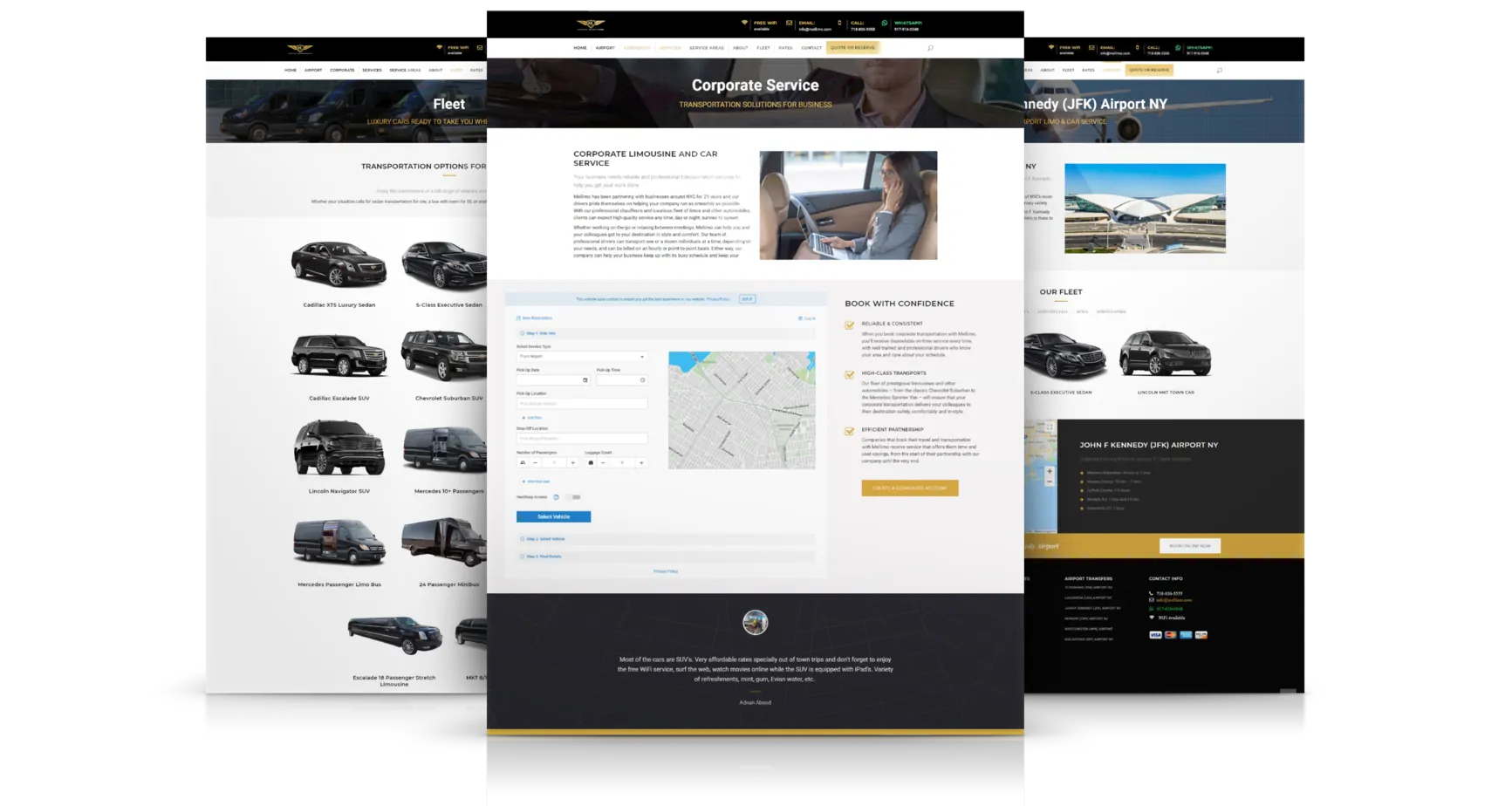 web-pages-for-limousines