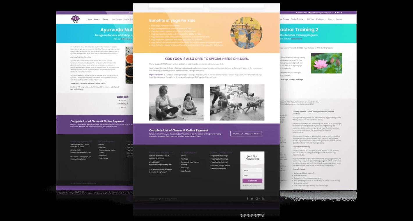 yoga-studio-web-pages